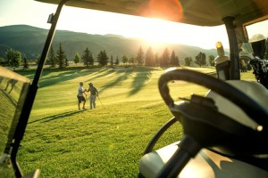 golf ad